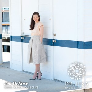 Jen DeRose, managing editor of Old Port magazine and the editor-at-large of Maine and Maine Home+Design magazines