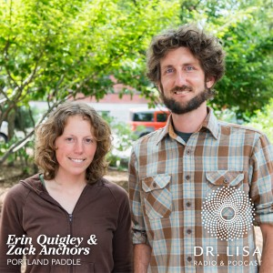 Zack Anchors and Erin Quigley, owners of Portland Paddle
