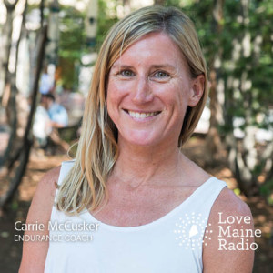 Carrie McCusker, endurance coach and athlete living in Cape Elizabeth, Maine