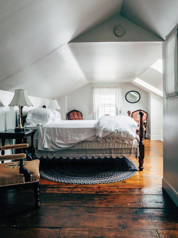 Dormer Windows And Plenty Of Light In A Top Floor Suite At The Blue Hill  Inn. The Blue Hill Inn