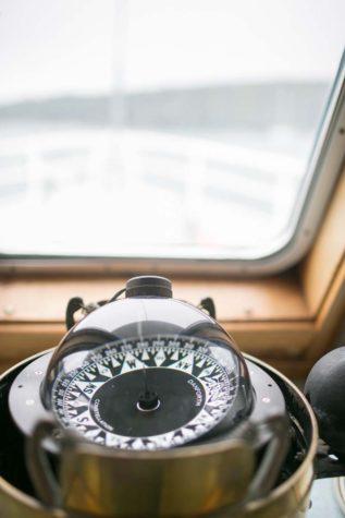 Nautical instrument aboard the Sunbeam