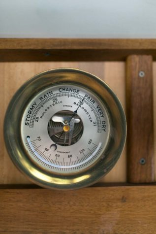Barometer aboard the Sunbeam