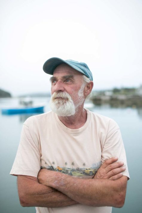 Bill Clark is a lobsterman on Isle au Haut