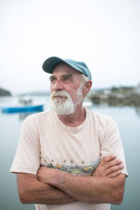 Bill Clark is a lobsterman on Isle au Haut