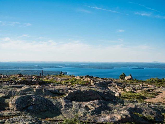 a view from the top of Cadillac Mountain