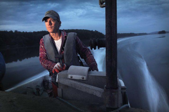 Oyster harvester Eric Horne
