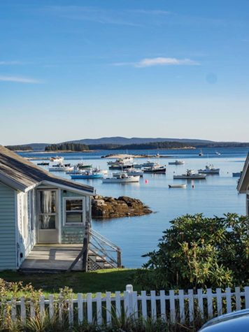 a view of Stonington harbor
