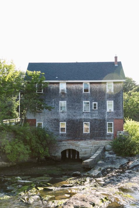 grist mill at first falls at the head of the tide.