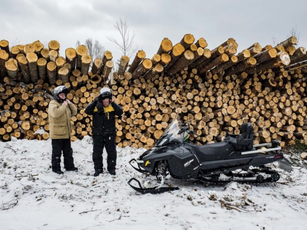 Sled Ready | Jackman | Border Riders Sportsman Club | Maine Magazine
