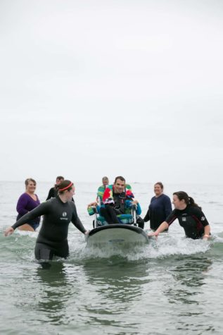 Special Surfers: Catching waves and breaking down barriers in Kennebunk