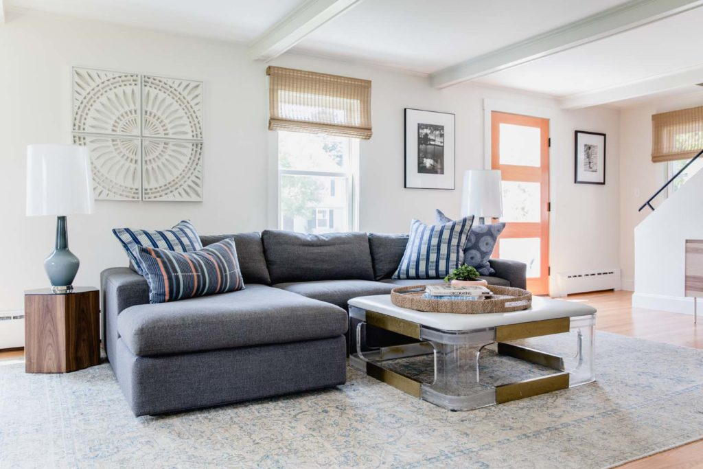 ... Cut Paper Art By Greg Copeland And Photographs By Leon Levinstein And  Judy Glickman Lauder. The Transitional Wool Rug Was Purchased On Sale At  Mardenu0027s.