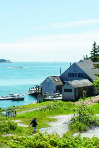 Hurricane Island The Maine Mag