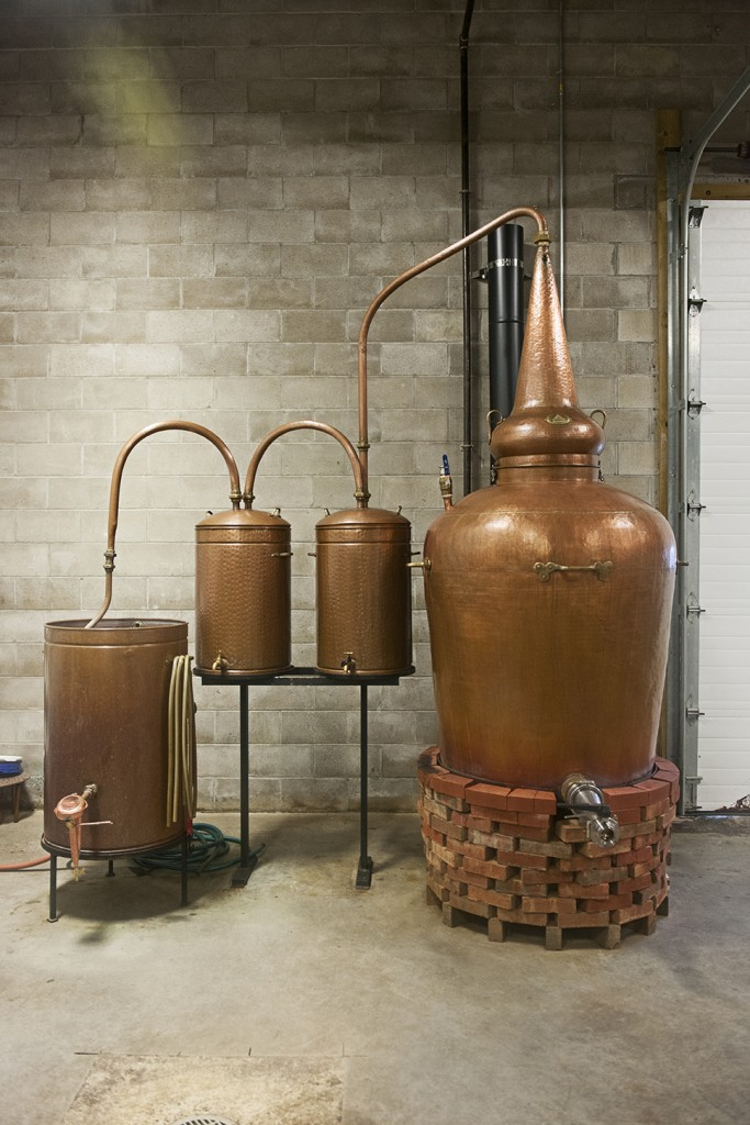 New England Distilling: Booze made the old-fashioned way