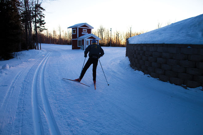 The Nordic Heritage Center Is A X Country Skiers Paradise The