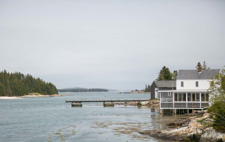 Beautiful home on Isle Au Haut