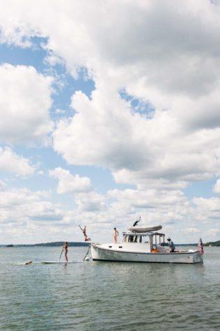 Summer off the coast of Maine