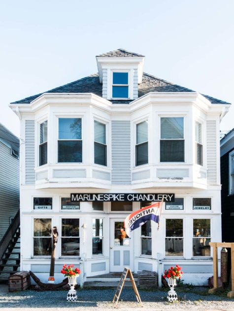 Marlinespike Chandlery in downtown stonington
