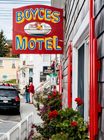 Boyces Motel downtown Stonington
