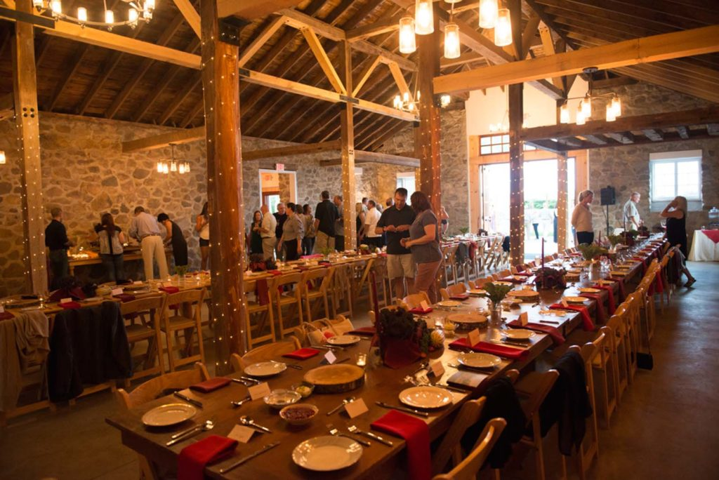 Stone Barn Dinner At Saint Joseph S College Eat Maine