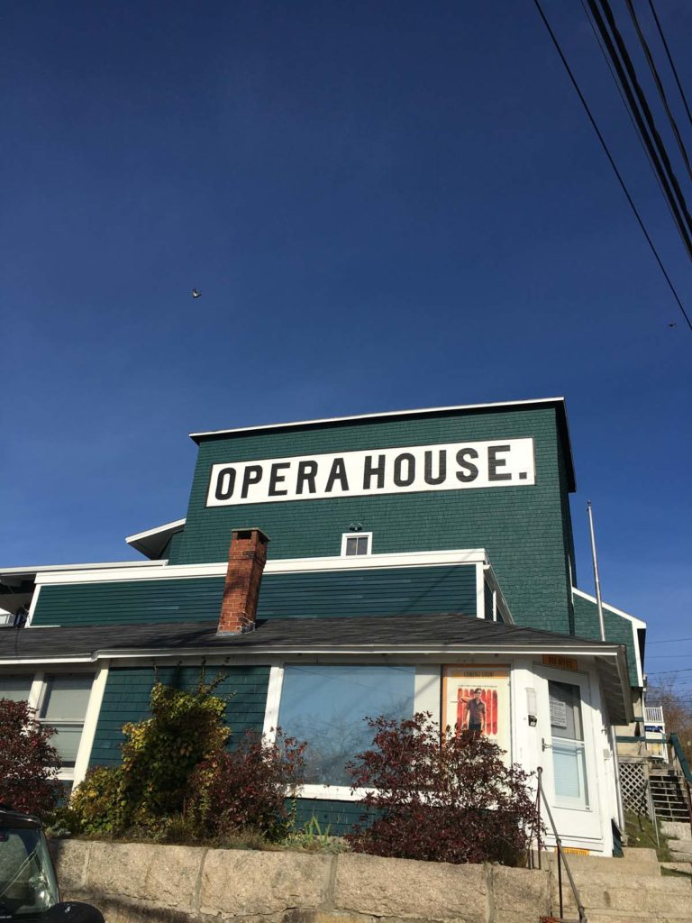 Stonington and deer isle in 48 hours the maine mag the stonington opera house looks out over the harbor kristyandbryce Gallery