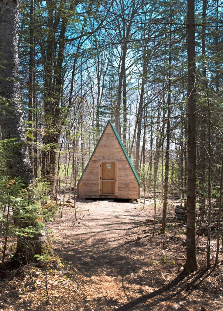 2566bdaed9d The tents at Tops'l Farm are designed to be comfortable for a multi-night  stay without being too precious. They feature indoor-outdoor rugs, two twin  beds, ...