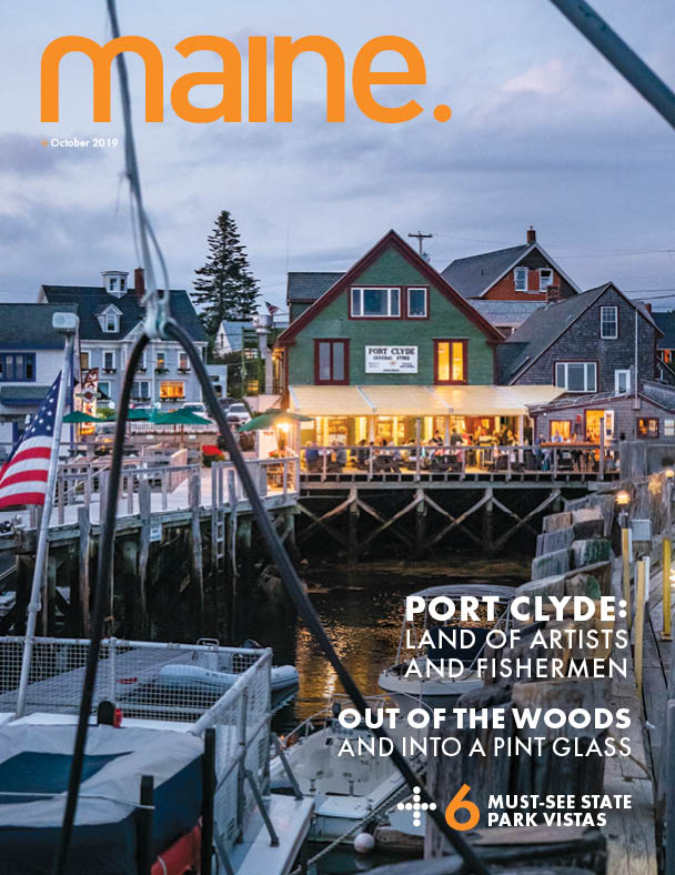 Maine Magazine Cover