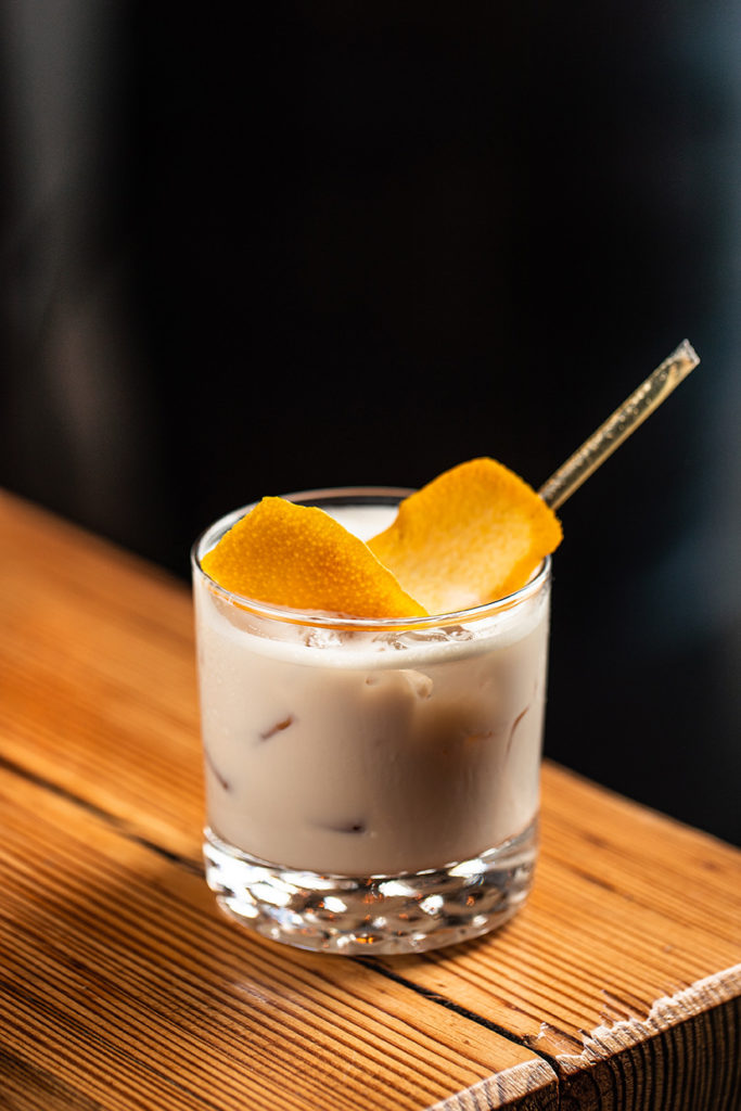 Milk & Honey cocktail with Vespertino