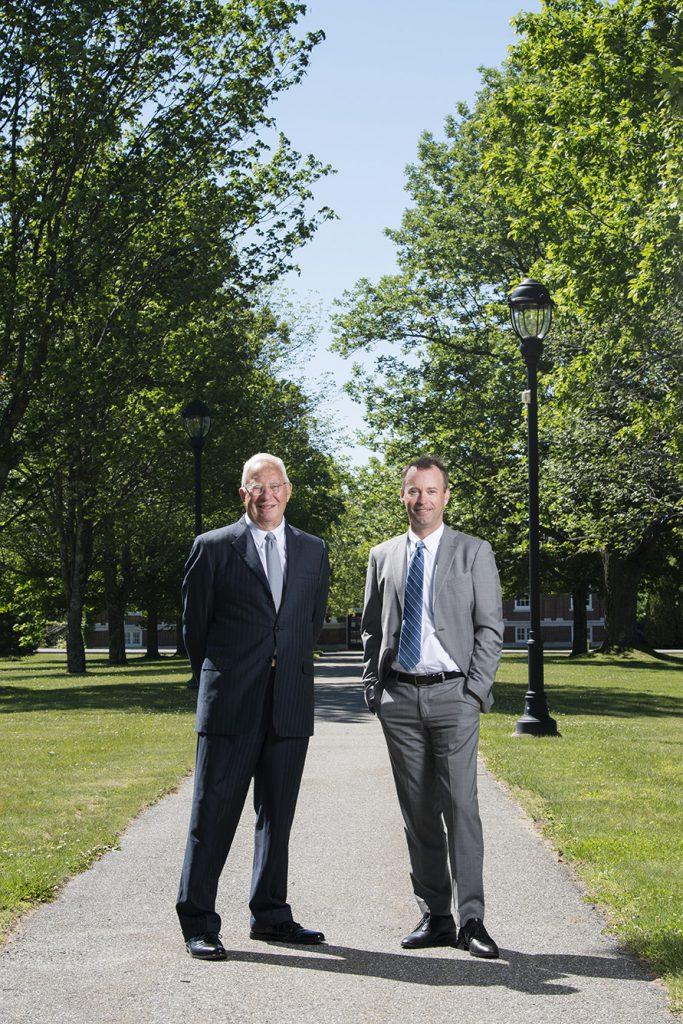 Former Libra Foundation president Owen Wells and current executive vice president Erik Hayward.