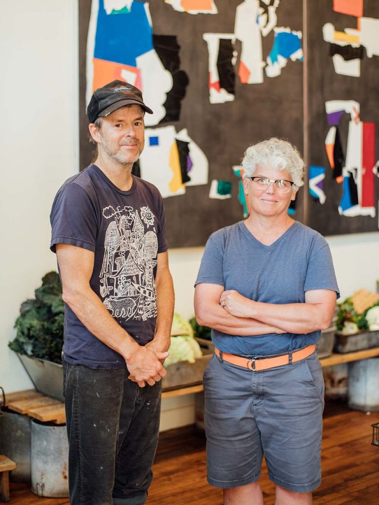 Perimeter's Freddy LaFage and Karen MacDonald have brought their vision of artistic exploration to fruition at Chase's Daily.