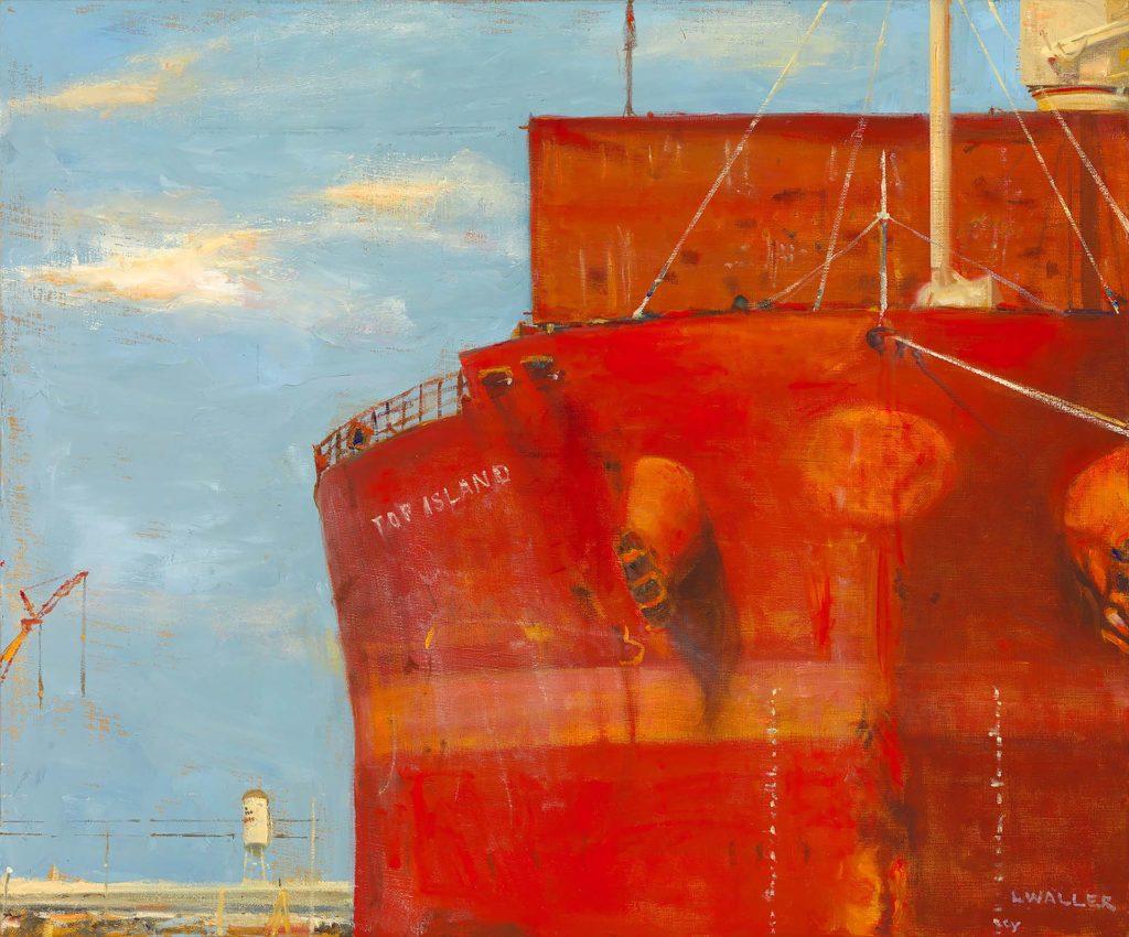 Top Island No. 2 by Maine artist Laura Waller