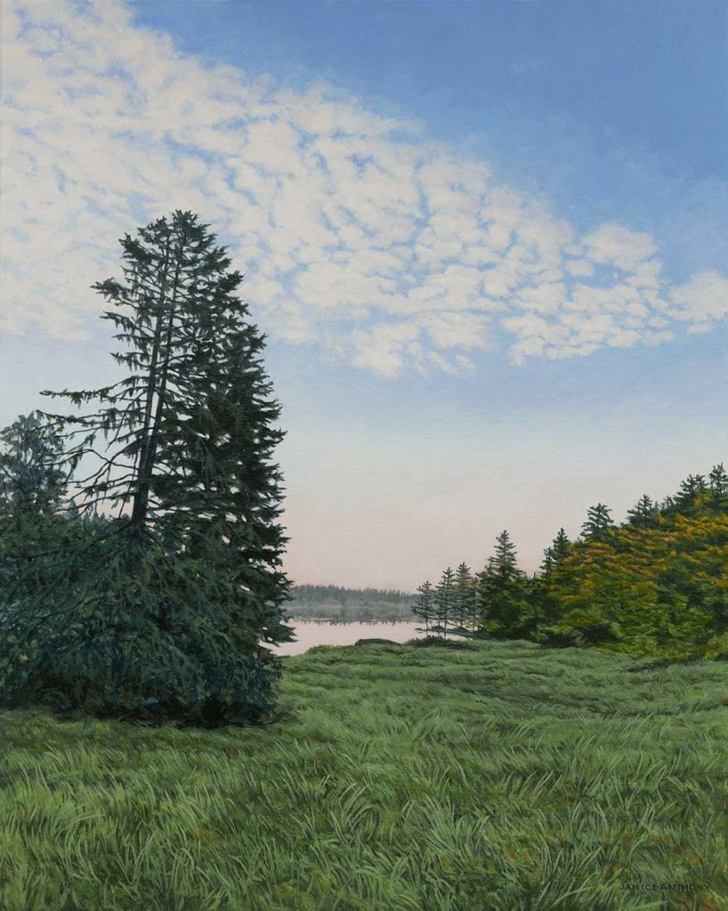 Cobscook Dawn by Maine artist, Janice Anthony