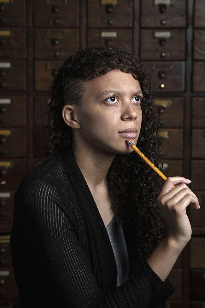 Portland Poet Laureate, Maya Williams