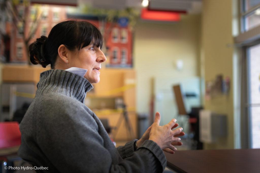 Hydro-Québec CEO Sophie Brochu