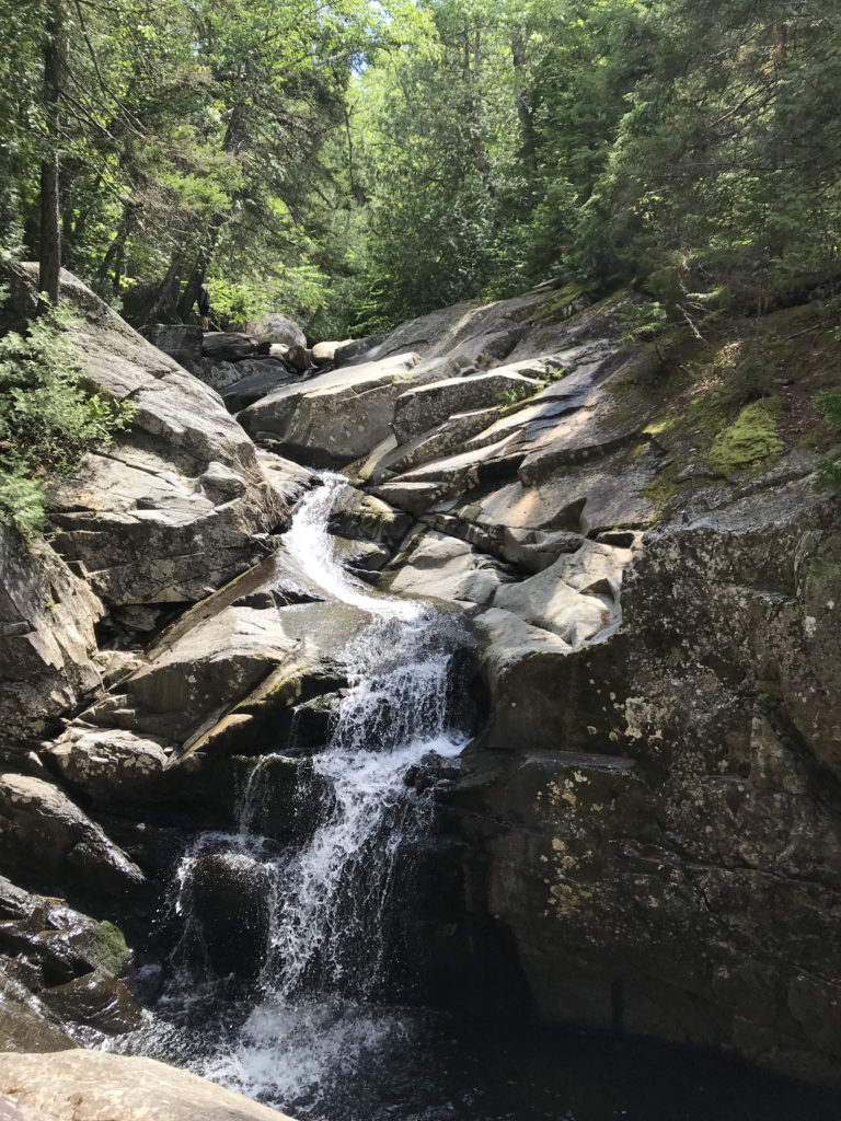 It's worth the hike to Cascade Falls, Rangeley lakes